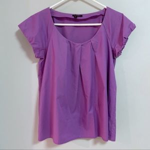 Theory Besette Cotton Blouse